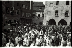 Main square, 1950s