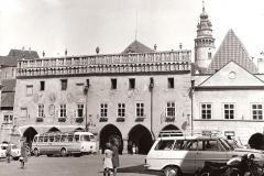 Main square, 1960, view of Klement Gottwald Square