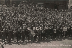 Main square, 1940, celebrating May Day_15